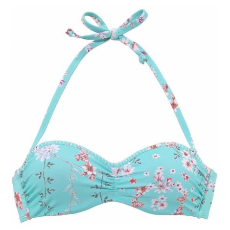SUNSEEKER Góra bikini 'Ditsy' jasnoniebieski / mieszane kolory