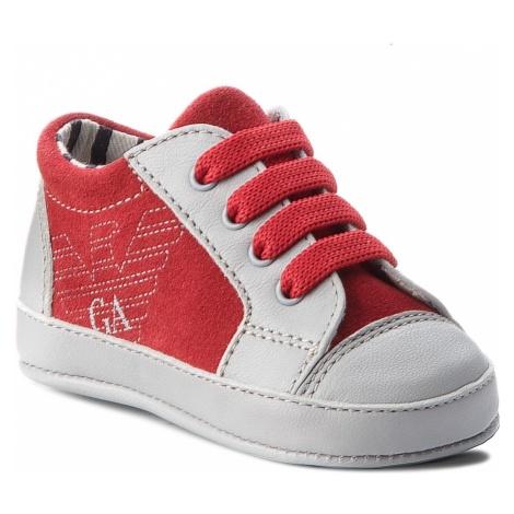 Sneakersy EMPORIO ARMANI - XLX001 XON06 C857 Grey/Red