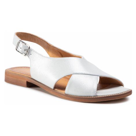 Sandały LASOCKI - TTT-M002-01 Silver