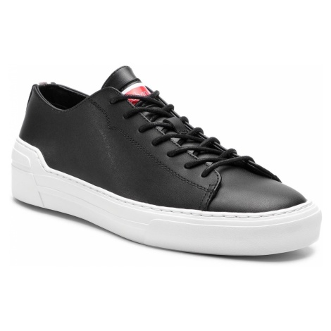 Sneakersy CALVIN KLEIN - Octavian F1208 Black/White/Cherry