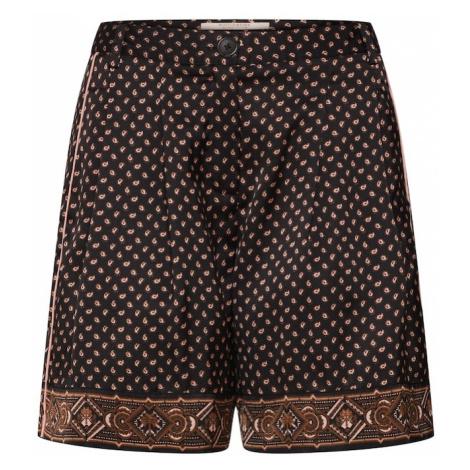SCOTCH & SODA Cygaretki 'Printed pyjama shorts' piaskowy / czarny