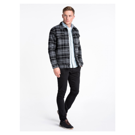 Ombre Clothing Men's mid-season jacket C428