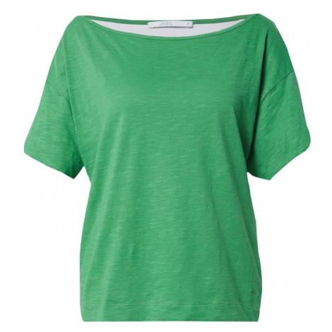 EDC BY ESPRIT Koszulka 'CORE' zielony