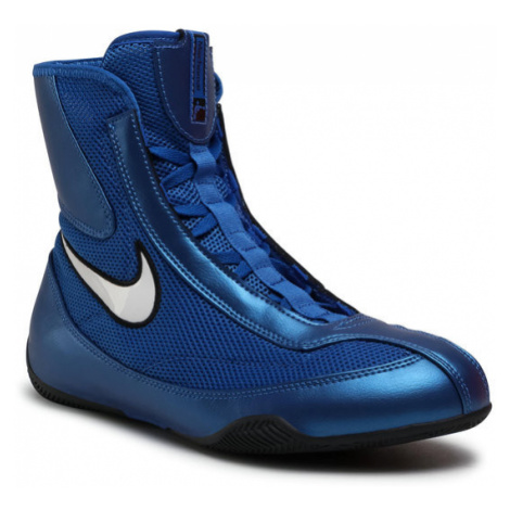Nike Buty Mid Boxing Shoe 333580 411 Niebieski