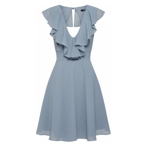 TFNC Sukienka koktajlowa niebieski / szary