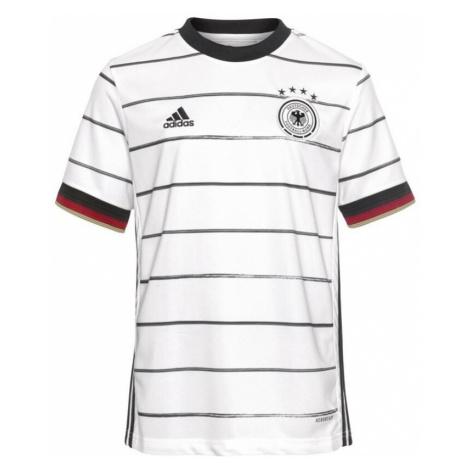 ADIDAS PERFORMANCE Koszulka funkcyjna 'EM 2020 DFB' biały / ciemnoczerwony / czarny