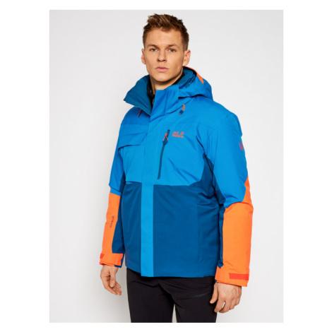 Jack Wolfskin Kurtka narciarska Great Snow 1113381 Niebieski Regular Fit