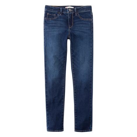 LEVI'S Jeansy '710 Super Skinny' niebieski denim Levi´s