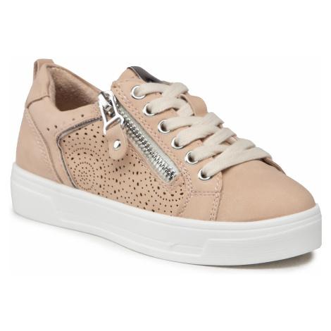 Sneakersy XTI - 57474 Nude