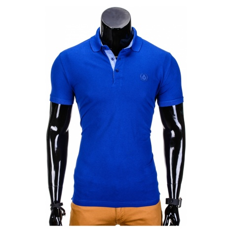 Ombre Clothing Men's plain polo shirt S837