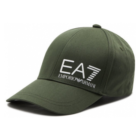 EA7 Emporio Armani Czapka z daszkiem 275936 1P103 01388 Zielony