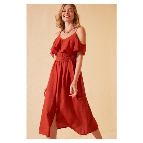 Trendyol Tdare Belt Dress
