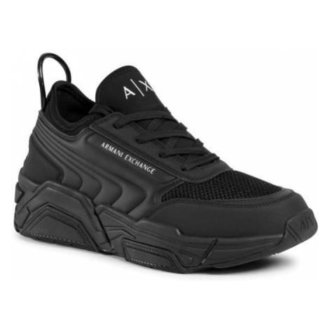 Armani Exchange Sneakersy XUX080 XV258 K001 Czarny