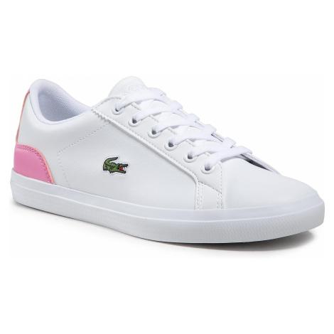 Sneakersy LACOSTE - Lerond 0120 1 Cuj 7-40CUJ00131Y9 Wht/Lt Pnk