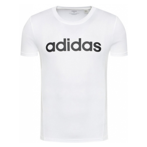 Adidas T-Shirt Design 2 Move FL0302 Biały Regular Fit