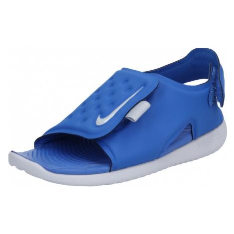Nike Sportswear Buty otwarte 'Sunray Adjust 5' niebieski / szary