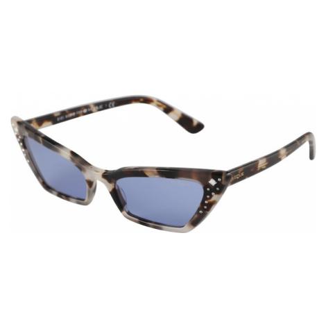 VOGUE Eyewear Okulary przeciwsłoneczne 'SUPER' szary / fioletowo-niebieski