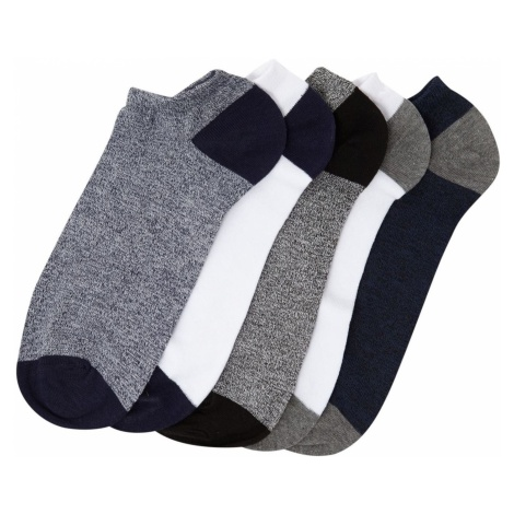 Criminal 5 Pack Trainer Socks