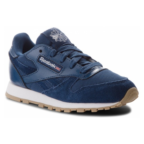 Buty Reebok - Cl Leather Estl CN1136 Washed Blue/White