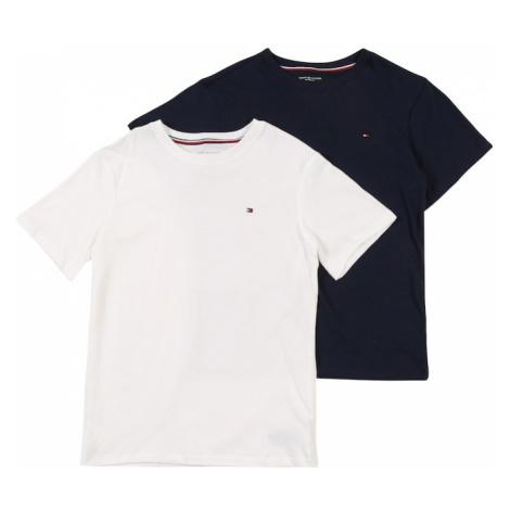 Tommy Hilfiger Underwear Piżama '2P CN TEE SS' czarny / biały