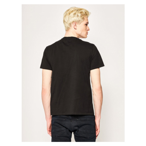 Just Cavalli T-Shirt S01GC0609 Czarny Regular Fit