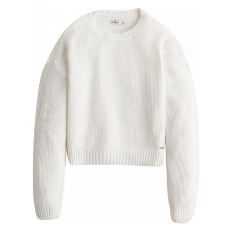 HOLLISTER Sweter biały
