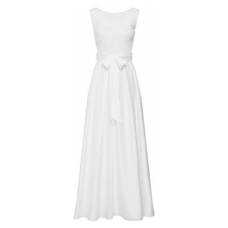 SWING Suknia wieczorowa biały