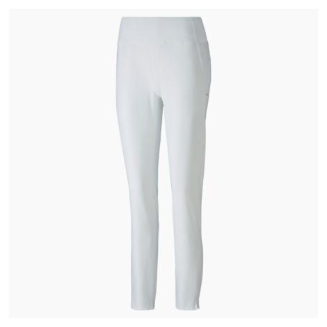 PUMA Damskie Spodnie Golfowe PWRSHAPE, Jasny Biały
