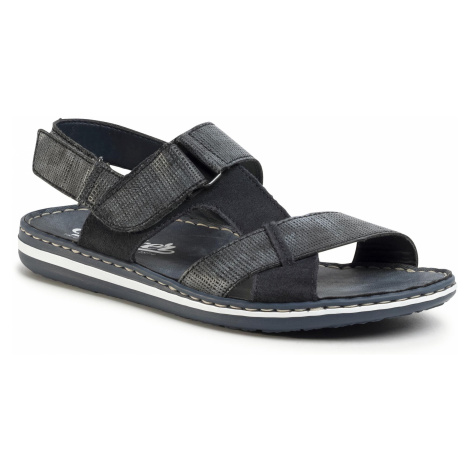 Sandały RIEKER - 21070-14 Blue