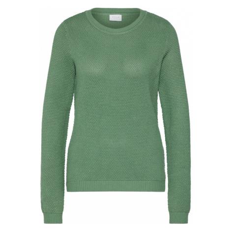 VILA Sweter 'Vichassa' zielony