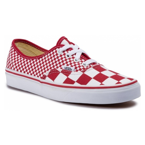 Tenisówki VANS - Authentic VN0A38EMVK51 (Mix Checker) Chili Peppe