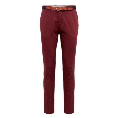 SELECTED HOMME Spodnie krwistoczerwony