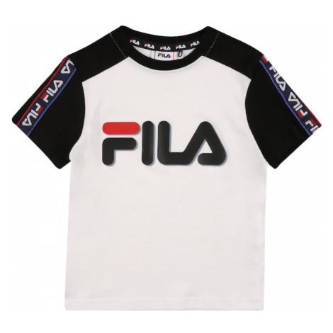 FILA Koszulka 'LUIGI' biały / niebieski / czerwony / czarny
