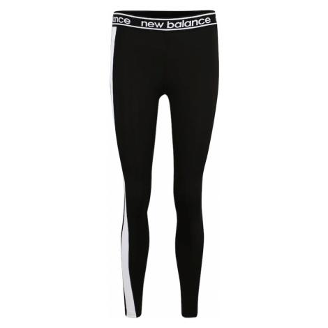 New Balance Spodnie sportowe 'WP91134' czarny / biały