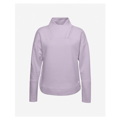 Under Armour Recover Fleece Wrap Bluza Fioletowy