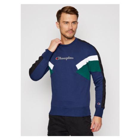 Champion Bluza Colour Block Insert 214786 Kolorowy Comfort Fit