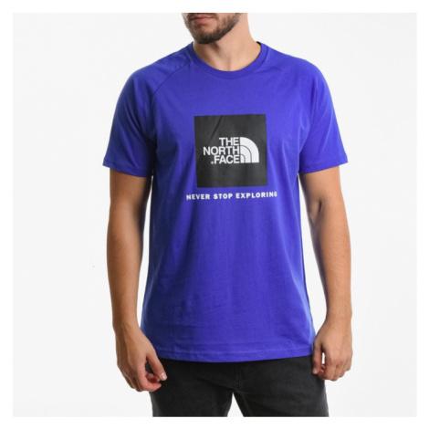 Koszulka męska The North Face T-shirt Raglan Red Box T93BQOCZ6