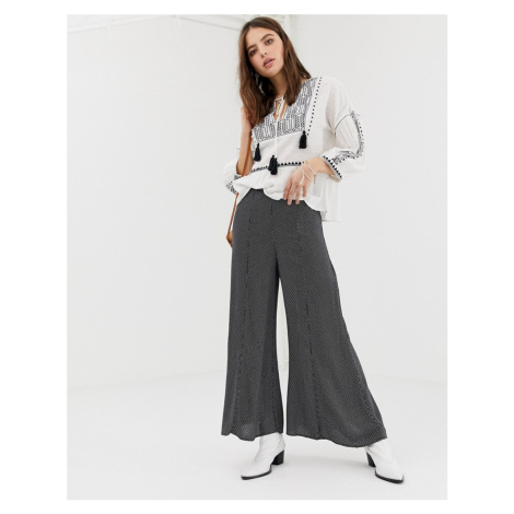 Free People Wild And Free wide leg trousers