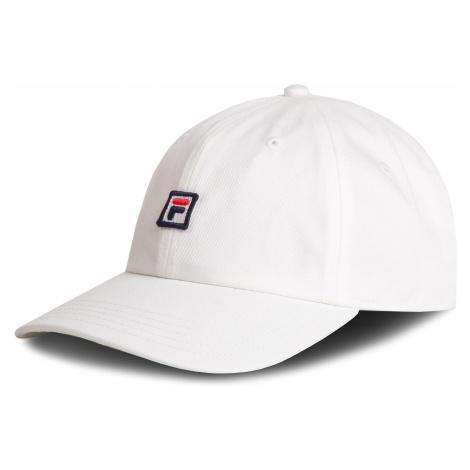 Czapka z daszkiem FILA - Dad Cap Strap Back 686004 Bright White M67