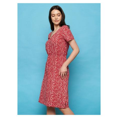 Tranquillo czerwona sukienka letnia