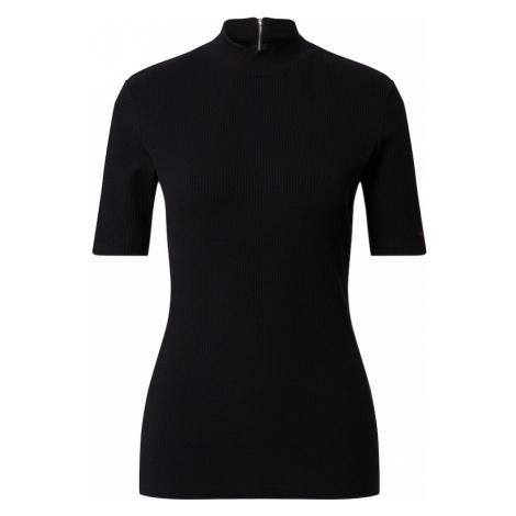 HUGO Koszulka 'Dinane' czarny Hugo Boss