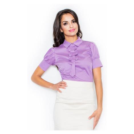 Figl Woman's Blouse M008 Purple