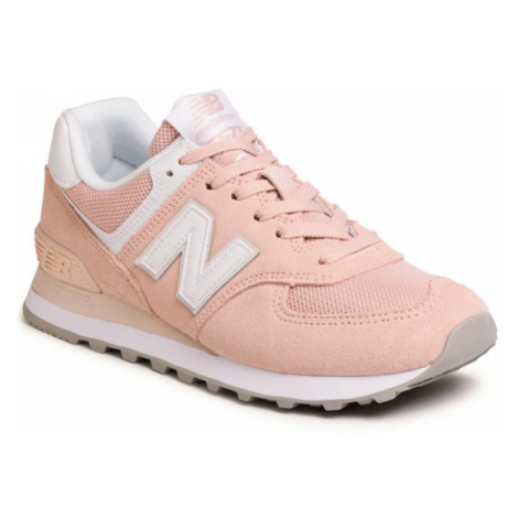 New Balance Sneakersy WL574OAB Pomarańczowy