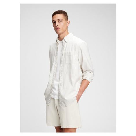 GAP biały męska koszula