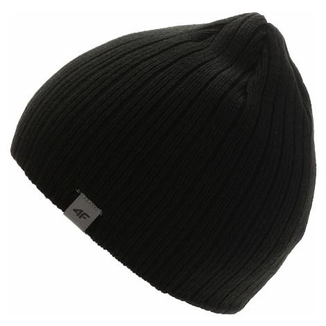czapka 4F X4Z18-CAM262 - Deep Black