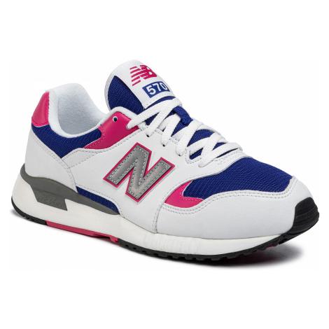 Sneakersy NEW BALANCE - ML570BNC Biały Kolorowy