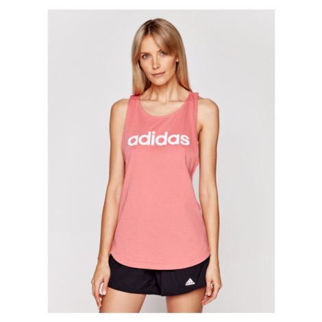 Adidas Top Essentials GL0629 Różowy Regular Fit