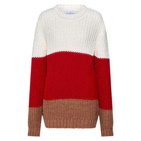 ROCKAMORA Sweter 'BENVINDA' czerwony / biały