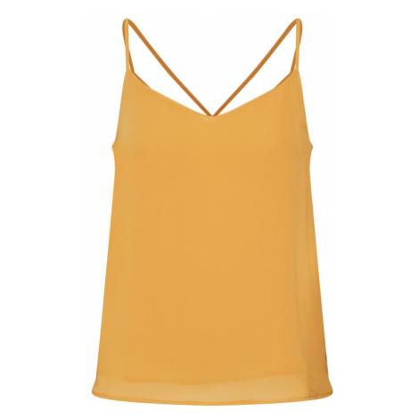 ONLY Top 'onlMOON SL TOP WVN' żółty