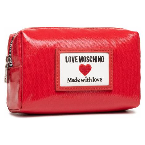 Kosmetyczka LOVE MOSCHINO - JC5304PP1CLC150A Rosso